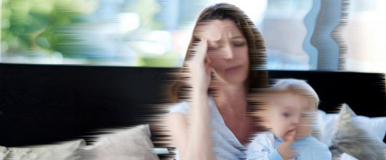 Maggiori disturbi del sonno in bambini che hanno madri con umore depresso